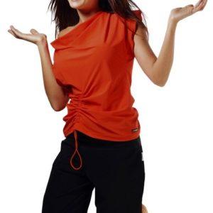 Dámské fitness tričko Winner Atena orange