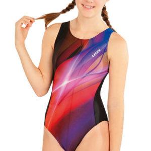 Dívčí jednodílné sportovní plavky Litex 63646
