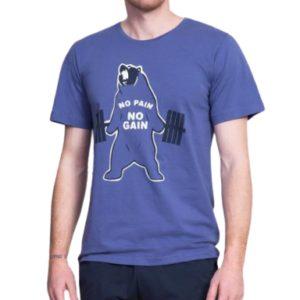 Pánské pyžamo šortky Vienetta Secret Medvěd