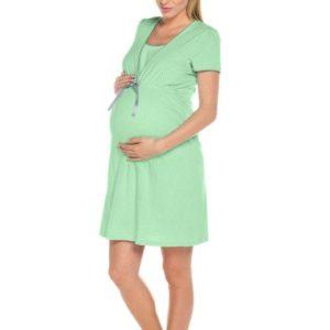 Dámská mateřská košile Italian Fashion Felicita zelená
